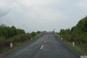 Cà Mau: Hơn 146 tỷ đồng làm đường nối vào đầm nước lợ lớn nhất ĐBSCL