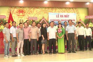 Ra mắt Câu lạc bộ doanh nghiệp - doanh nhân huyện Tân Hồng