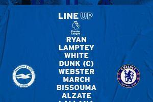 Brighton 1-3 Chelsea: 2 bàn thắng trong 2 phút