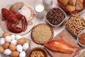 Nhận diện các thực phẩm dễ gây dị ứng