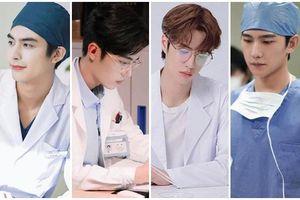 18 nam thần trong trang phục bác sĩ: Tiêu Chiến, Vương Nhất Bác đẹp 'hớp hồn' fan nữ
