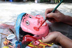Nhộn nhịp làng nghề đồ chơi Trung Thu truyền thống ông Hảo