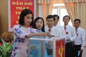 Cà Mau tổ chức thành công Đại hội Đảng bộ cấp trên cơ sở, tăng niềm tin trong dân
