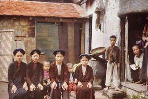 Bộ ảnh màu hiếm có chụp Việt Nam hơn 100 năm trước