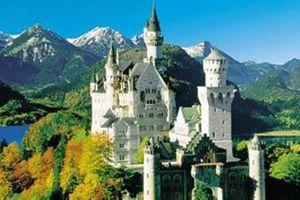 Bí ẩn lâu đài của vị vua khoác áo 'Hiệp sĩ thiên nga'