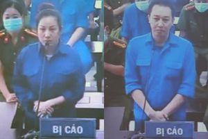 Hình ảnh giám đốc trung tâm đấu giá đất ở Thái Bình cùng vợ Đường 'Nhuệ' hầu tòa