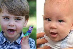 Hai em bé hoàng gia Louis và Archie làm người hâm mộ bấn loạn khi đều có chung một sở thích khiến cha mẹ nhiều lần phải 'dở khóc dở cười'