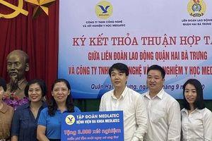 Hà Nội: Chăm lo sức khỏe đoàn viên - lao động