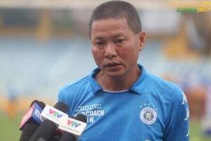 HLV Chu Đình Nghiêm thận trọng trước trận chung kết với Viettel