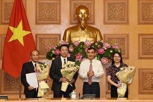Văn phòng Chính phủ điều động, bổ nhiệm nhân sự mới