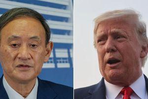 Ông Trump điện đàm với ông Suga về Ấn Độ Dương-Thái Bình Dương