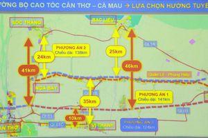 Đề xuất xây dựng cao tốc Cần Thơ - Cà Mau song song với quốc lộ Quản Lộ - Phụng Hiệp