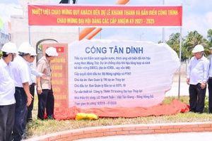 Bàn giao 3 công trình tiên tiến nhất Việt Nam kiểm soát mặn, ngọt