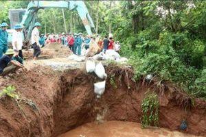 Hà Nội: Công bố tình trạng khẩn cấp sự cố sụt, sập cống xả Trạm bơm tiêu Tảo Khê