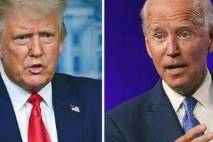 Bầu cử Mỹ: Tổng thống Trump và đối thủ Biden 'mài gươm' so găng trực tiếp