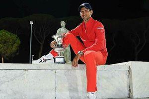 Djokovic đạt hiệu suất giành danh hiệu lớn rất cao