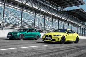 Cặp đôi BMW M3 và M4 Coupe 2020 ra mắt: Điểm nhấn là lưới tản nhiệt mới và cải thiện công suất