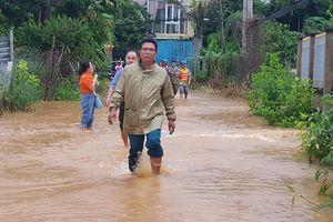 Lũ dâng cao, Bình Phước di dời hàng trăm người, nhiều căn nhà bị ảnh hưởng