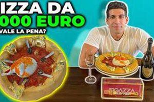 Chiếc bánh pizza đắt nhất thế giới
