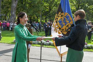 Đại sứ Việt Nam trình Thư ủy nhiệm lên Tổng thống Estonia