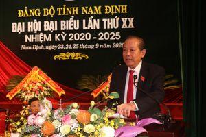 Khai mạc Đại hội Đảng bộ tỉnh Nam Định lần thứ 20