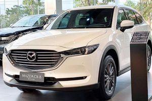 Mazda CX-8 Deluxe thêm trang bị, gần 1 tỷ đồng tại Việt Nam