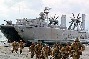 Số phận lớp tàu đổ bộ đệm khí cực ít biết của Liên Xô