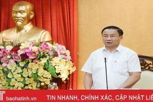 Hà Tĩnh tiếp tục thi đua hướng tới Đại hội lần thứ XIII của Đảng
