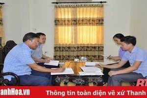 Đảng bộ huyện Vĩnh Lộc chú trọng kiểm tra, giám sát ngăn ngừa sai phạm