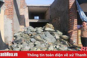 Giải quyết vụ đổ đá chặn lối đi của người dân – cần sự quyết liệt của chính quyền xã Quảng Chính