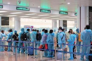 Chuyến bay thương mại quốc tế đầu tiên về Việt Nam