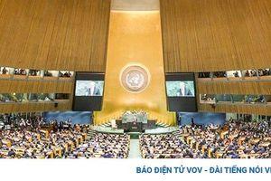 Cuộc đối đầu giữa Nga-Mỹ-Trung Quốc tại Liên Hợp Quốc về dịch Covid-19