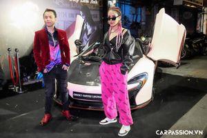 Rapper Binz đọ dáng siêu xe McLaren 650S Spider hơn 10 tỷ