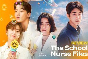 The School Nurse Files: Sợ xám hồn mấy 'bé thạch' siêu nhầy nhụa, may quá Nam Joo Hyuk không 'phá team'