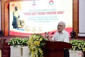 Từ Luật tiếng Việt nghĩ về Ngày tiếng Việt
