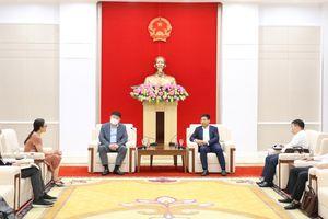 Chủ tịch UBND tỉnh tiếp nhà đầu tư Hàn Quốc