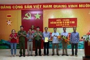 Thôn xa nhất của Hà Nội có đội tự quản an ninh