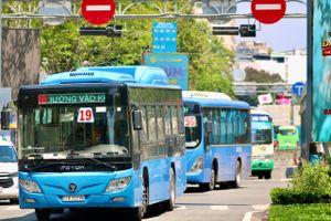 Đề xuất mở 5 tuyến buýt điện ở TP.HCM