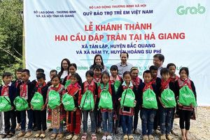 Khánh thành 2 công trình cầu đập tràn tại Hà Giang
