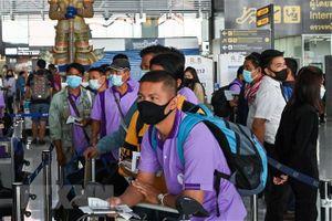 Các vận động viên nước ngoài được phép nhập cảnh vào Thái Lan