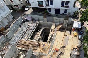 Hiện trạng nhà dân có 4 tầng hầm phố Sơn Tây của ông Lê Công giờ thế nào?
