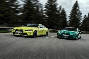 BMW M3 và M4 2021 dành cho người mê tốc độ