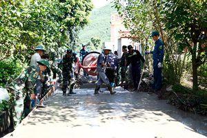Lực lượng vũ trang Quảng Ninh chung sức xây dựng nông thôn mới