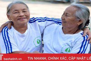 Người cao tuổi Hà Tĩnh góp sức xây dựng khối đại đoàn kết toàn dân