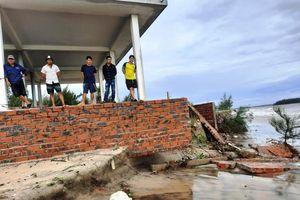 Vùng biển Quảng Nam đang bị xâm thực mạnh