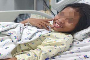 Cô bé 11 tuổi vừa qua cơn hôn mê sau khi uống hơn hai chục viên thuốc ngủ để tự tử