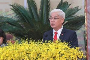 Ông Nguyễn Văn Lợi tái đắc cử Bí thư Tỉnh ủy Bình Phước