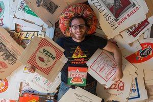 Chàng trai phá kỷ lục thế giới khi sở hữu hơn 1.500 hộp đựng pizza