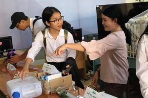 Huyện đoàn Phú Tân triển khai mô hình không gian khoa học, công nghệ trong trường học