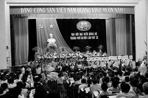 Đại hội đại biểu lần thứ IX Đảng bộ thành phố Hà Nội: Tiếp tục cải tạo, củng cố và hoàn thiện quan hệ sản xuất xã hội chủ nghĩa